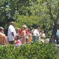 Бритни Спирс. 30 июля - Бритни с мальчиками в Hurricane Harbor