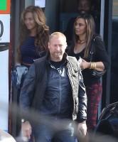 Бейонсе Ноулз. #Jayonce и Блу Айви обедали вместе Келли Роуланд и Тиной Ноулз в Лос-Анджелесе