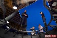 Нашлось фото со съемок Мстителей