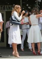 Джессика Альба посетила свадьбу в Беверли-Хиллз