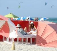 Нина на пляже в Майами (26.04.13)