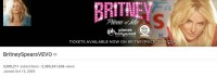 На официальном канале Бритни на YouTube свыше 2 миллиардов просмотров!
