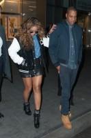 Бейонсе Ноулз. #Jayonce покидают офисное здание в Нью-Йорке