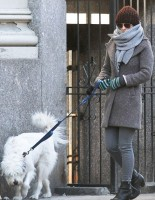 Оливия Уайлд. Оливия и Пако на прогулке по улицам Манхэттена