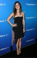Рэйчел на мероприятии от  BlackBerry