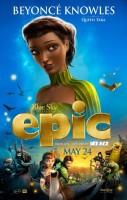 Бейонсе Ноулз. Постеры и трейлер к анимационному фильму «EPIC»