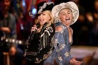 Выступление Мадонны и Майли на «MTV Unplugged»