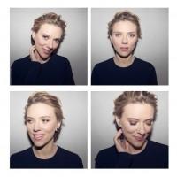 Портрет Скарлетт, сделанный на SodaStream Unveiling