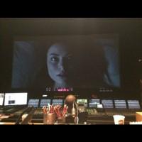 """На странице,посвящённой фильму """"злоумышленники"""" в инстаграме,появилось 2 новых фото с Мирандой на большом экране, как видно, работа над фильмом идёт полным ходом и это радует:)"""