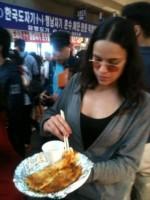 Michelle Rodriguez at Korea