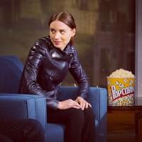 """Руни Мара и Джуд Лоу на передаче """"Popcorn with Peter Travers"""""""