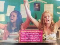 Скан из журнала «M magazine».