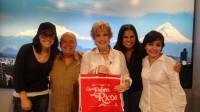 Зурия и Роси на шоу «Todo para la Mujer» и на радиопередачах