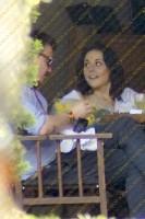 Зурия и Альберто в кафе