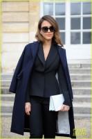 Джессика Альба на показе Christian Dior в Париже