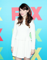 Зоуи Дешанель. FOX 2014 Programming Presentation at the FOX Fanfront - Нью-Йорк, 12 Мая