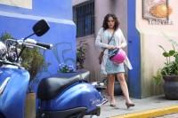 Cурия Вега. Кадры и фото со съемок новых серий теленовеллы «Какие же они богатые, эти бедные».