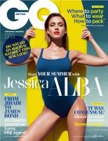 """Джессика Альба в журнале """"GQ"""" (Великобритания, август 2014)"""