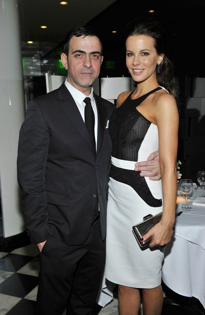 Кейт Бекинсейл. Кейт с мужем на ужине в честь Антонио Берарди, Беверли-Хиллз (8 фото)