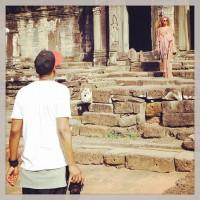 Бейонсе Ноулз. #Jayonce посетили храмовый комлекс Ангкор-Ват в Сием-Рип, Камбоджа