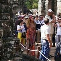 #Jayonce посетили храмовый комлекс Ангкор-Ват в Сием-Рип, Камбоджа