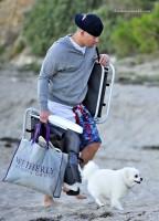 Ченнинг на пляже