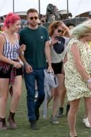 Кристен с друзьями на Coachella