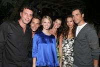 Джессика Альба. Jessica Alba on the New Year party in Casa Casaurina (Miami)