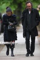 Эксклюзив: Хелена, Тим и Билли гуляют по Лондону