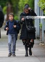 Хелена Бонэм Картер. Эксклюзив: Хелена, Тим и Билли гуляют по Лондону