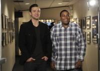 Фотографии со съемок промо SNL.