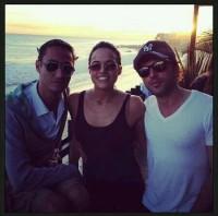 Мишель Родригес была замечена с друзьями в Малибу-Бич