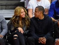 #Jayonce на баскетбольном матче в Лос-Анджелесе