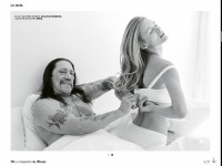 Дэнни Трехо. фотосессия Le magazine du Monde