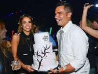 Джессика Альба отмечает свой 33-й день рождения в Лас-Вегасе