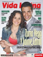 Сурия и Хайме на обложке американского журнала «Vida Latina».