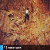 Новое фото из Instagram'а. Наша малышка покоряет вершины)
