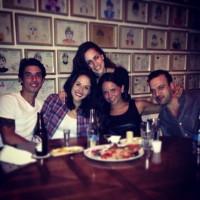 Сурия и Альберто побывали на праздновании дня рождения их подруги Дениз. Фото из Instagram'а.