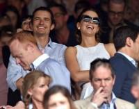 Кейт Бекинсейл. Кейт вместе с Орландо Блумом на финале Уимблдонского теннисного турнира