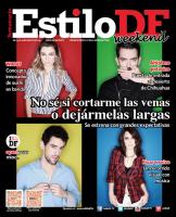 Каст фильма в журнале «Estilo DF»
