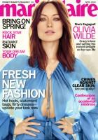Фотосессия Оливии для апрельского выпуска журнала  Marie Claire