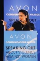 Сальма Хайек. Сальма Хайек посетила «Avon Communications Awards 2013».