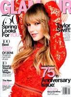 Обложка мартовского «Glamour» с Тейлор