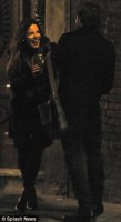 Кейт Бекинсейл. Кейт и Даниэль Брюль на съемках фильма «Лицо ангела» (7 фото)