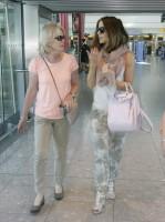 Кейт Бекинсейл. Кейт прилетела в Лондон, чтобы посетить финал Уимблдона.