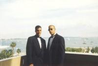 Джоуи Дедио и Вин Дизель на Каннском кинофестивале (1995)