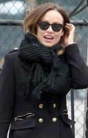 Оливия Уайлд. Оливия Уайлд в компании подруги поймана на улицах Нью-Йорка