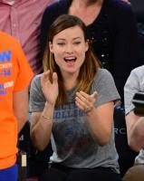 Оливия Уайлд. Оливия и Джейсон в Нью-Йоркском спортивном комплексе «Мэдисон Сквер Гарден»
