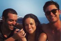 Michelle, Mohammed Al turki and Zac Efron !