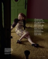 "Молли К. Куинн. Molly Quinn для журнала ""InStyle"" Russia"